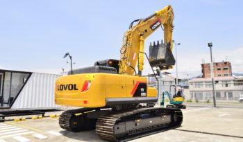 EXCAVADORA LOVOL FR220D lleno