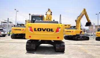 EXCAVADORA LOVOL FR150D lleno